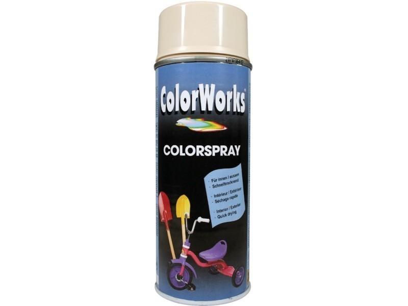 Colorworks - peinture aérosol brillante blanc électroménager - 400 ml BD-600949