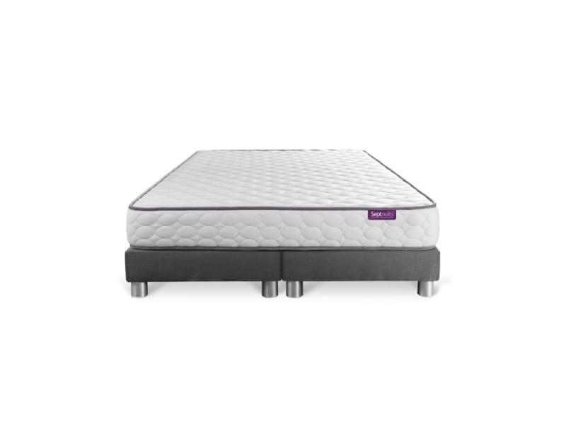 ensemble matelas 160x200 double sommier 80x200 eco green vente de sept nuit conforama. Black Bedroom Furniture Sets. Home Design Ideas