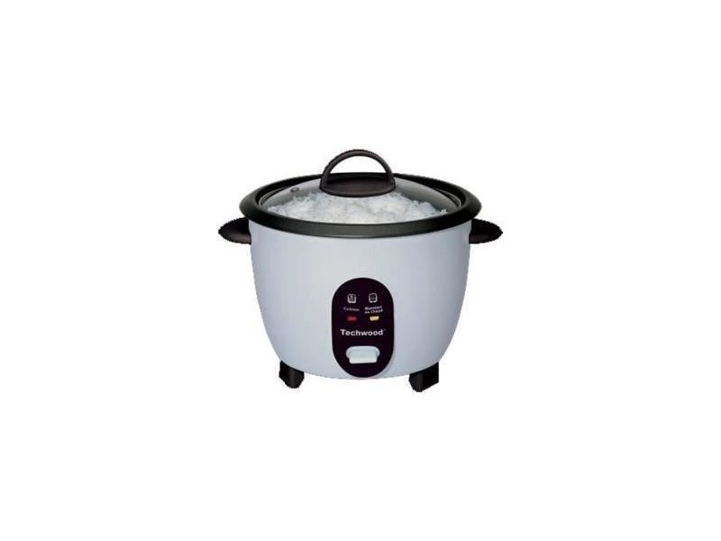 Techwood tcr-256 cuiseur a riz - blanc TEC3760196092124