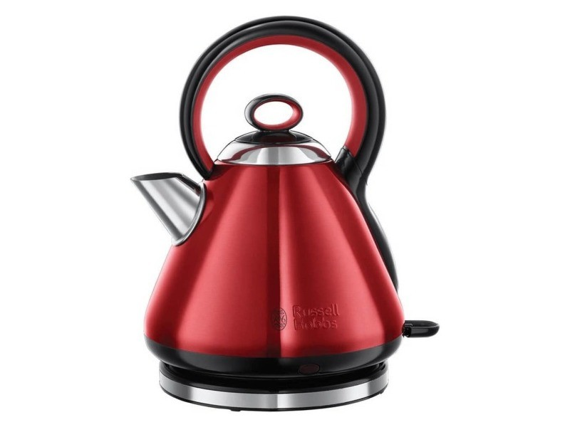 Russell hobbs bouilloire legacy quiet boil rouge 1,7 l 2000-2400 w