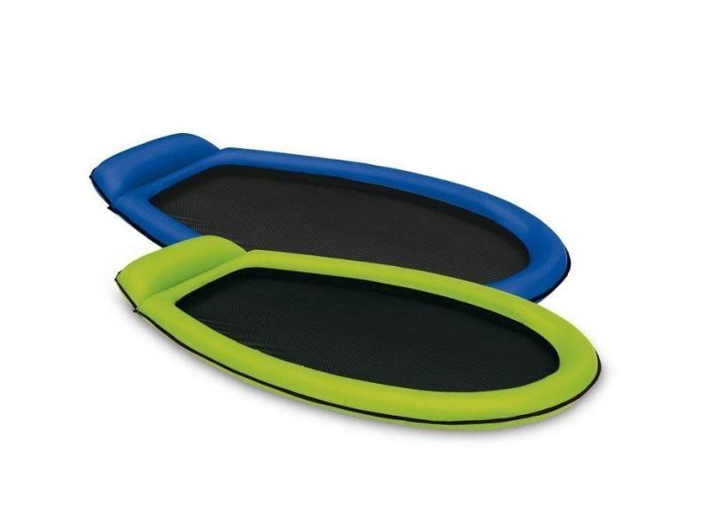 Fauteuil - chaise longue - matelas gonflable piscine matelas de piscine semi-immergé maille