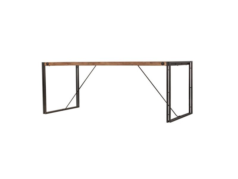 Table fixe bois & acacia 200 x 90 - workshop
