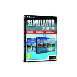 Pro fishing 4 + open sea fishing : the simulator + water park simulator [import anglais]