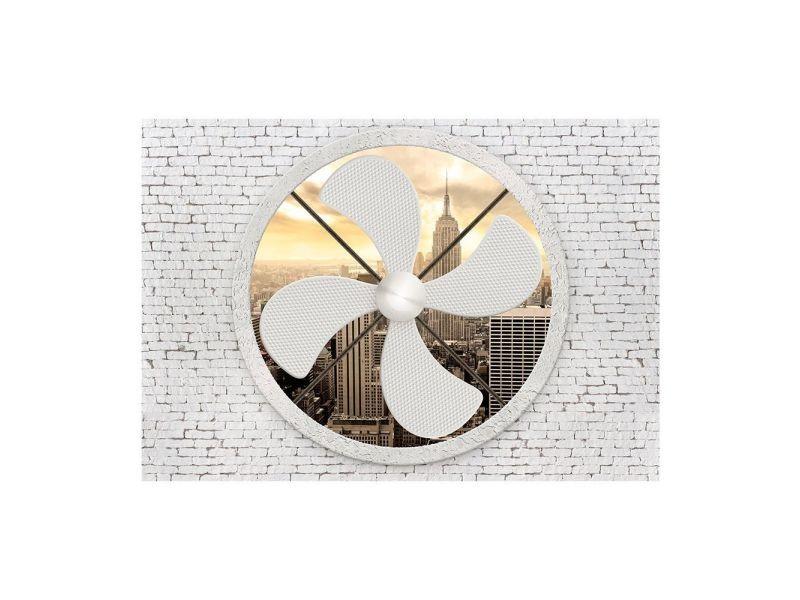 Papier peint - climatic new york 150x105