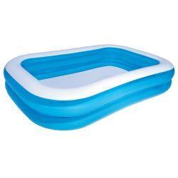 Bestway piscine gonflable bleue/blanche