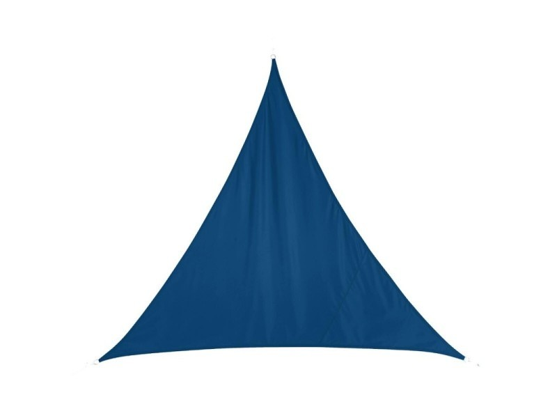 Toile solaire luxe curacao 5x5x5m hespéride bleu indigo - bleu indigo