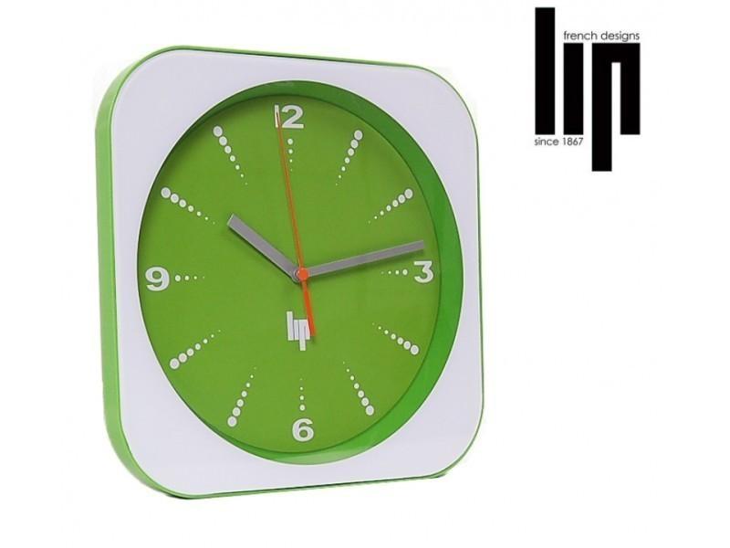 horloge pendule exactitude lip retro vert vente de lip conforama. Black Bedroom Furniture Sets. Home Design Ideas