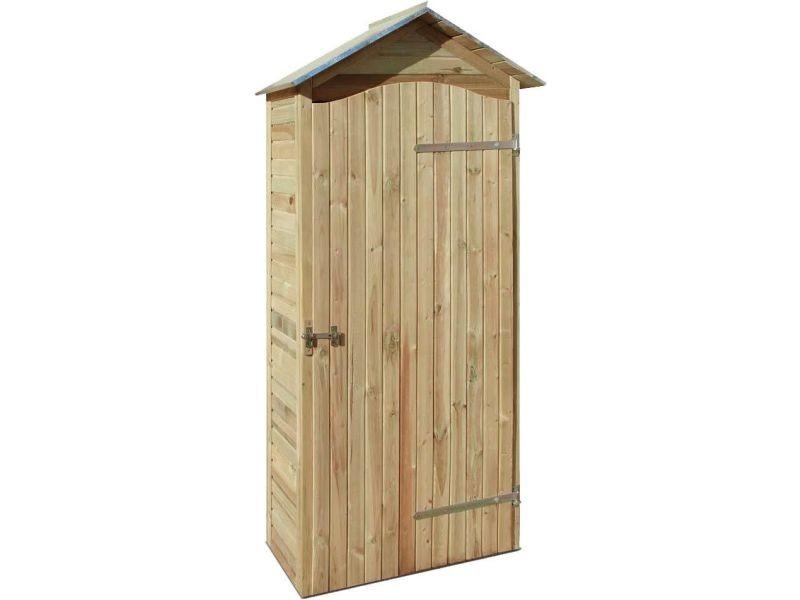Armoire de jardin en bois - grand modèle B_0100539 - Vente de ...