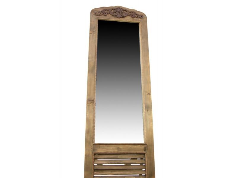 d coration d 39 autrefois miroir ancien rectangulaire. Black Bedroom Furniture Sets. Home Design Ideas