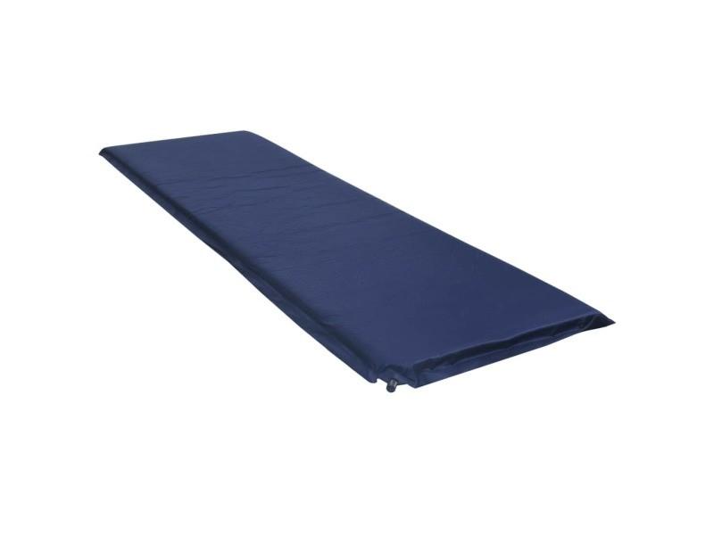 Inedit camping et randonnée serie erevan matelas gonflable 66x200 cm bleu
