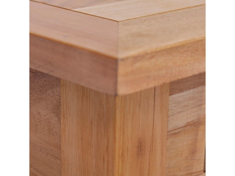 Vidaxl table basse 100x50x30 cm bois d'acajou massif 288827