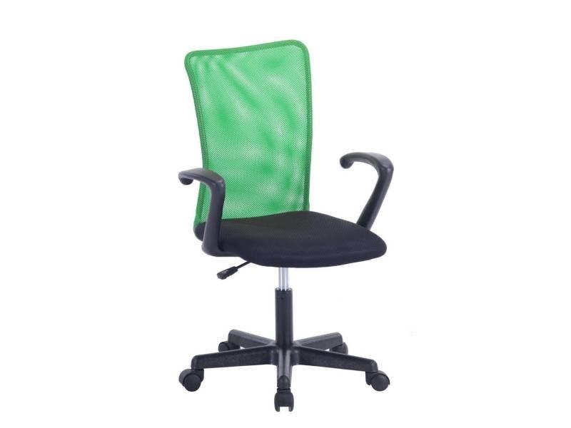 Kayelles laser chaise de bureau junior vert laser vert