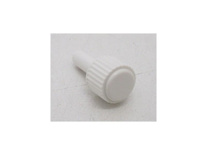 Bouton de programmateur blanc pour four faure