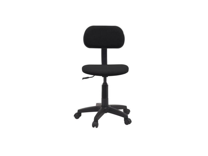 Bureau Chaise 48 Tissu X De Pikto P Dactylo Noir L 47 Cm Vente 8NnP0wOkX
