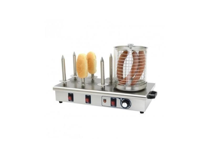 Machine à hot dog 6 plots