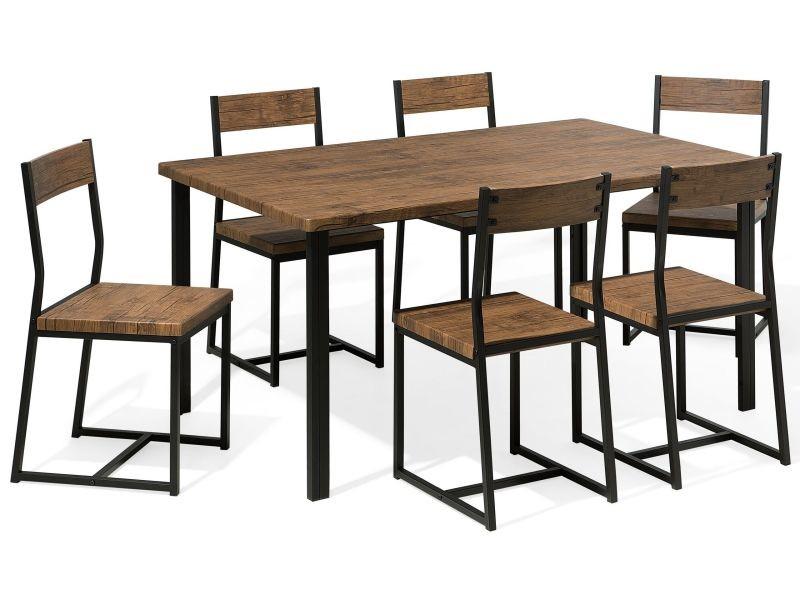 Ensemble Table De Salle A Manger Et 6 Chaises Laredo 77417 Vente