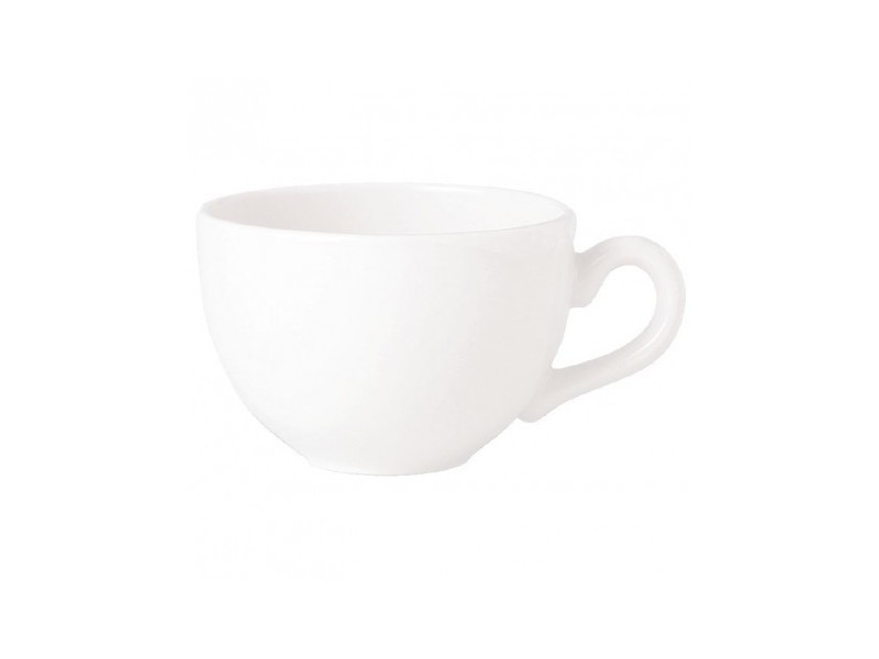 Tasses basses 340ml empire steelite simplicity white - boite de 36 - 0 cm porcelaine 34 cl
