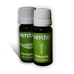 Duo d'essences pour sauna eucalyptus rento  (2x10ml)