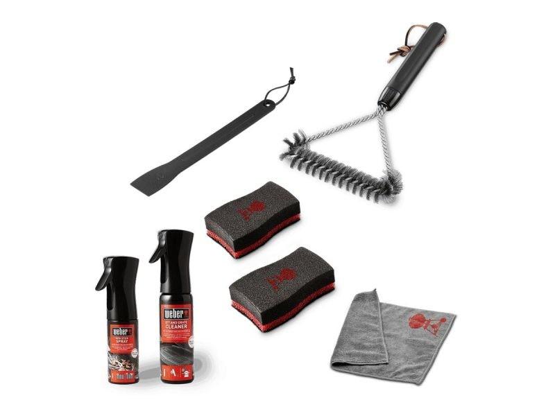Kit de nettoyage pour barbecue série q et pulse - weber