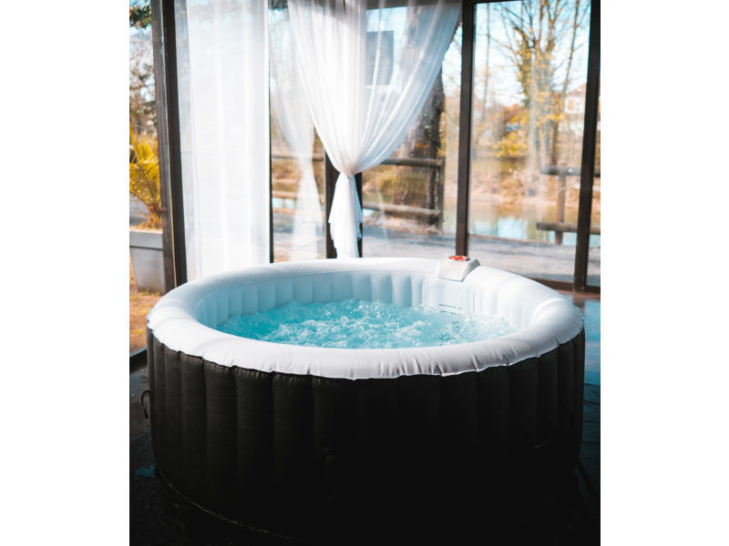 spa gonflable 4 personnes ospazia vente de spa jacuzzi conforama. Black Bedroom Furniture Sets. Home Design Ideas