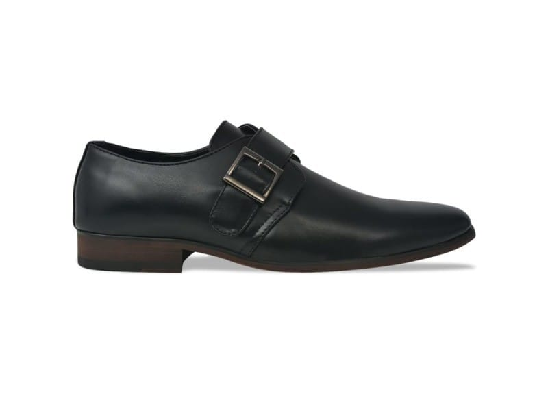 Icaverne - chaussures gamme chaussures pour hommes noir pointure 43 cuir pu