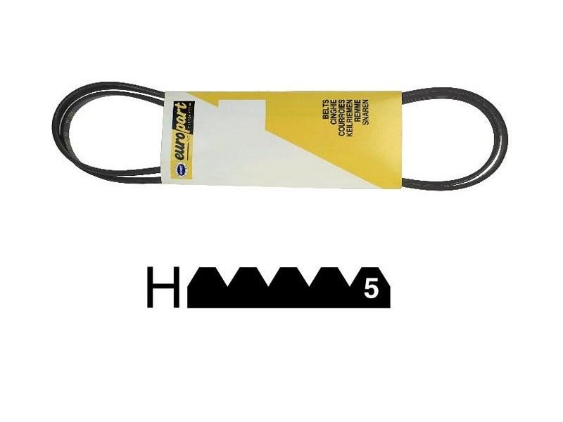 Courroie 1185 h6 type mael pour lave linge vedette - 7867134