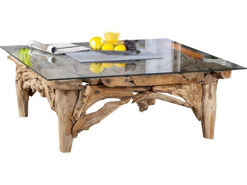Table Basse Design En Bois Naturel Conforama