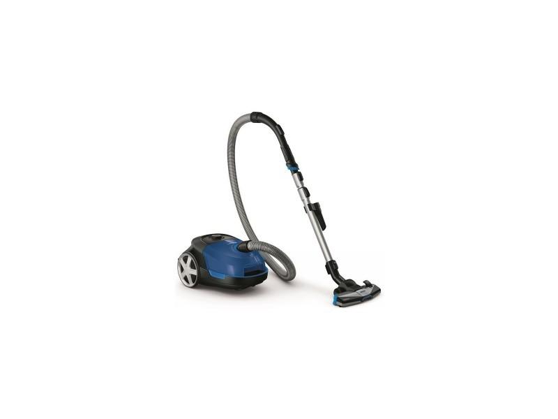 Aspirateur avec sac 3l bleu classe a 79db 25kw/an rayon 9m triactive+ airflowmax