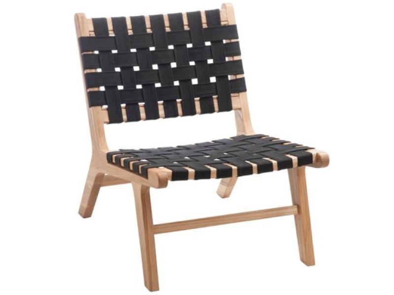 Paris prix - chaise design en bois & lin \