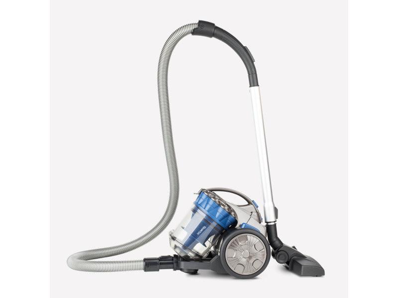 Aspirateur multi cyclonique sans sac compact+ bleu noir