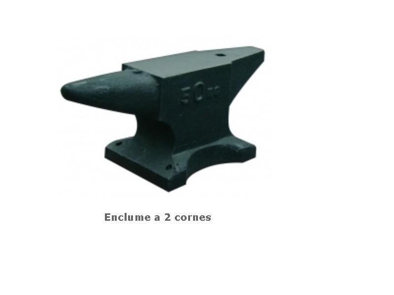 Outifrance – enclume 2 cornes en fonte acier 10 kg longueur 27 cm