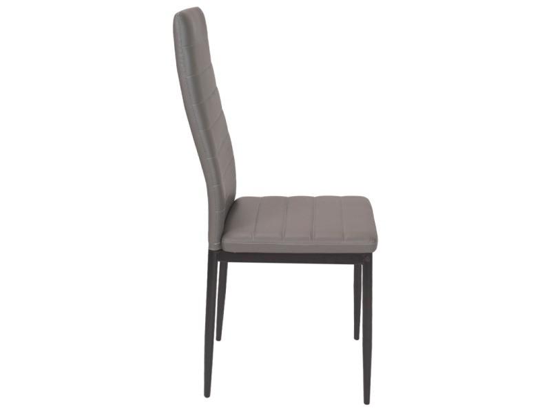 6 à Lot grises romane salle pour de chaises Vente manger n0kNwOP8XZ