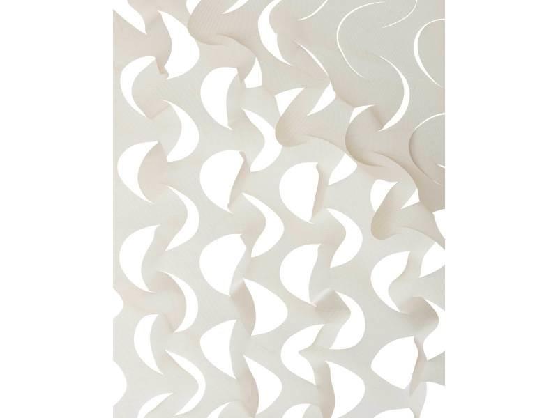 Tentes de réception, voiles d'ombrage toile d'ombrage ajourée de couleur beige. La toile est de form