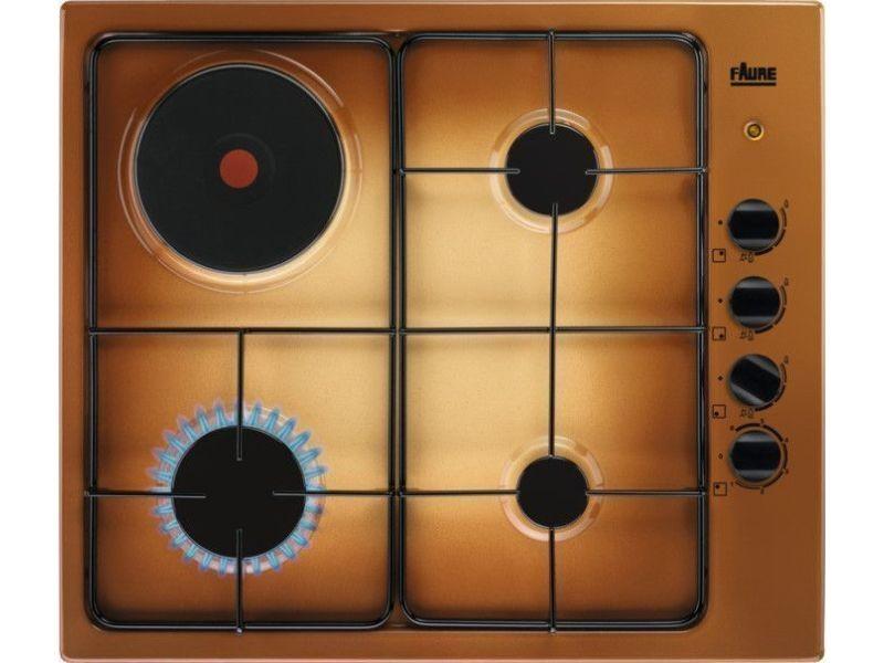 Table de cuisson mixte 60cm 4 feux terre de france - fgm64300t fgm64300t
