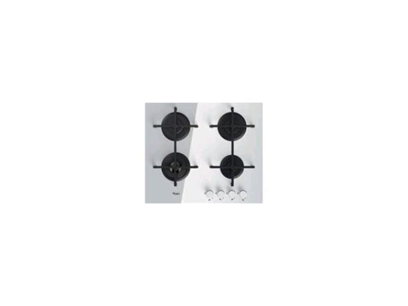 Whirlpool goa 6423/wh plaque blanc intégré (placement) gaz 4 zone(s) GOA 6423/WH