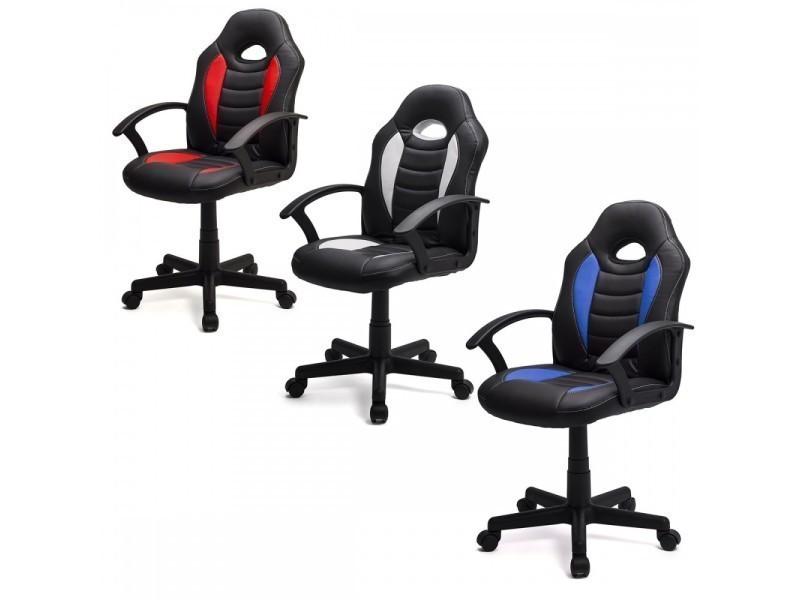 Dynamic fauteuil de bureau chaise de jeu gamer bleu vente de