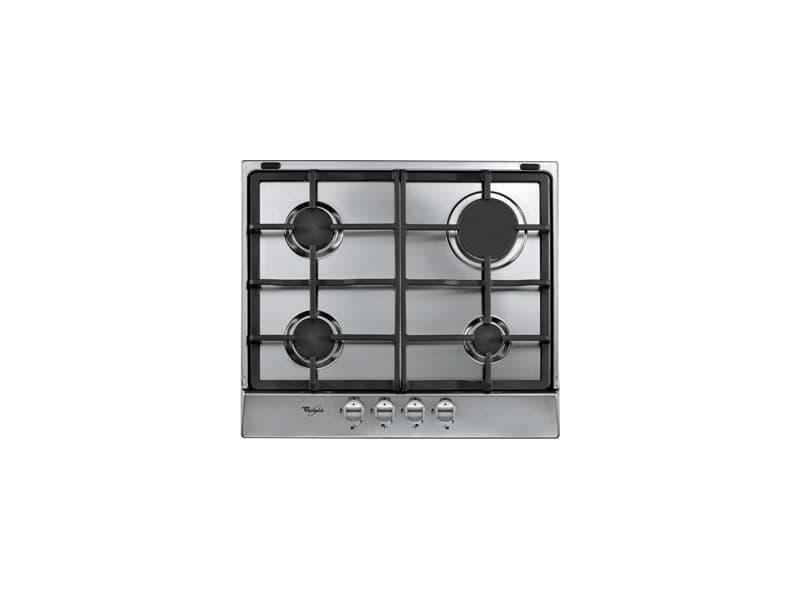 Whirlpool akr 361/ix intégré cuisinière à gaz argent plaque AKR 361/IX
