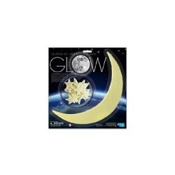 Glow in the dark lune et etoiles