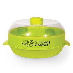 Cuit vapeur spécial micro-ondes 1.2l vert