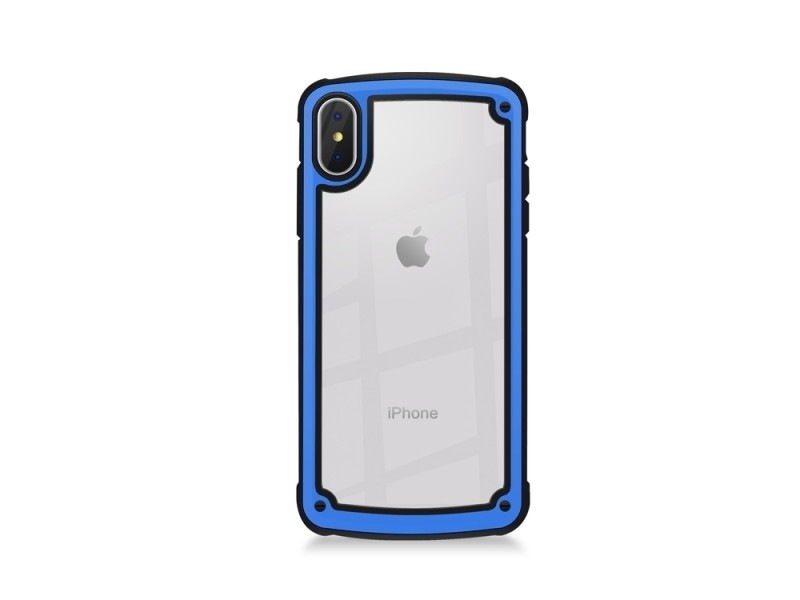Coque iPhone XRKenzo Blanc Bleu AntiChoc Coque Compatible iPhone XR