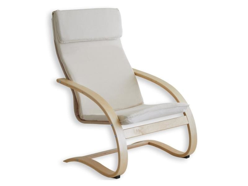 fauteuil de relaxation anna beige vente de idimex conforama. Black Bedroom Furniture Sets. Home Design Ideas