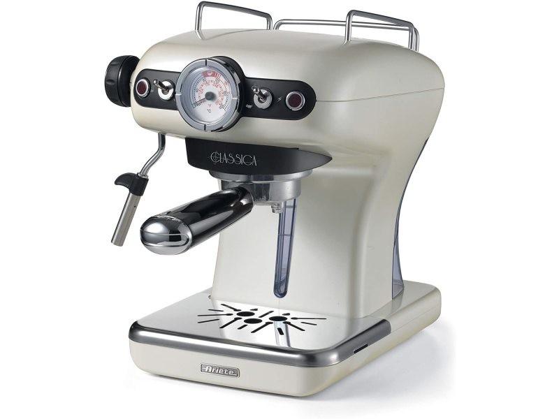Machine à expresso de 0,9l rétro de 15 bars 850w perle
