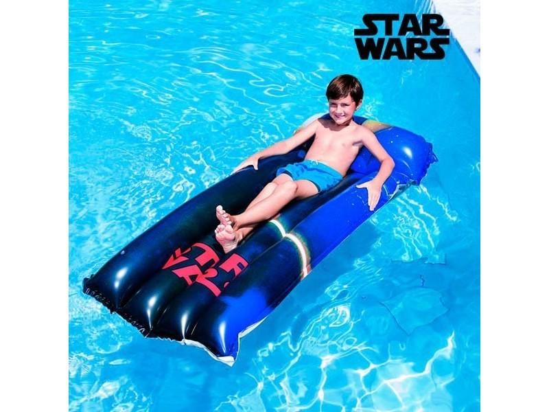Matelas gonflable star wars en vinyle résistant - piscine mer