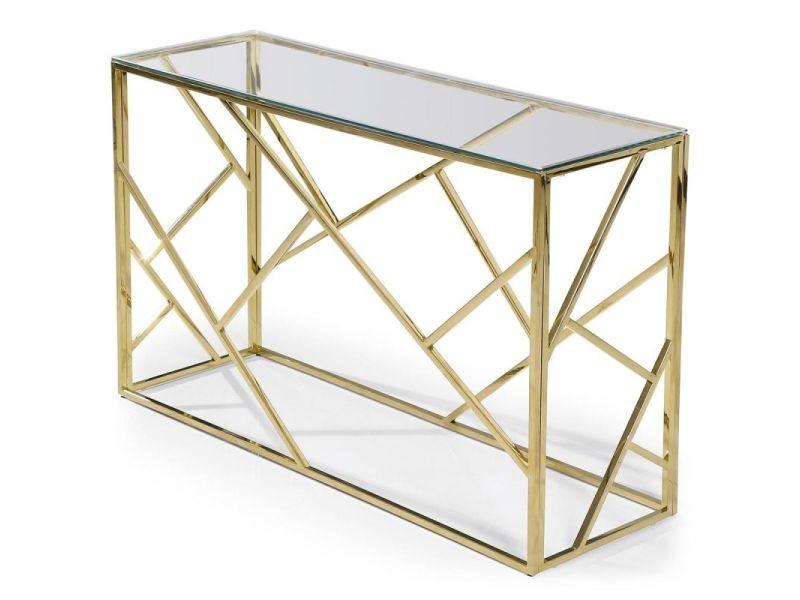 Paris prix - console design en verre & métal \