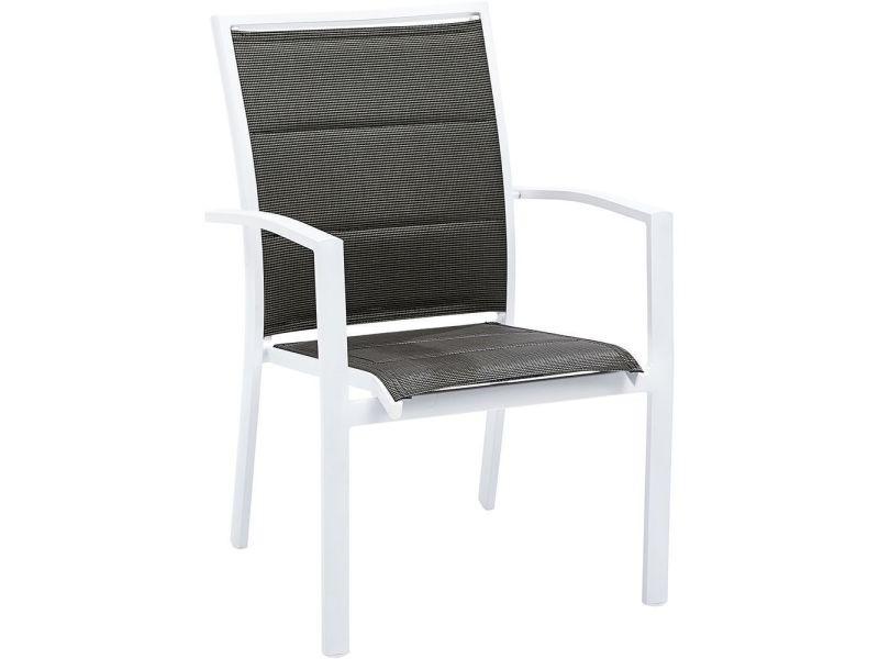 Wilsa garden - fauteuil de jardin modulo blanc - Vente de WILSA ...