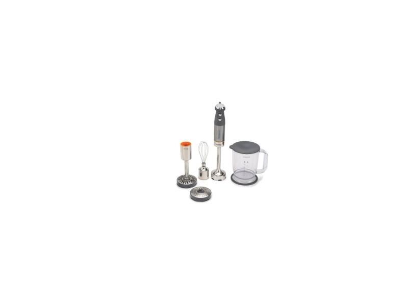 Kenwood hdm802si mixeur plongeant triblade system pro - 1000 w - gris/orange