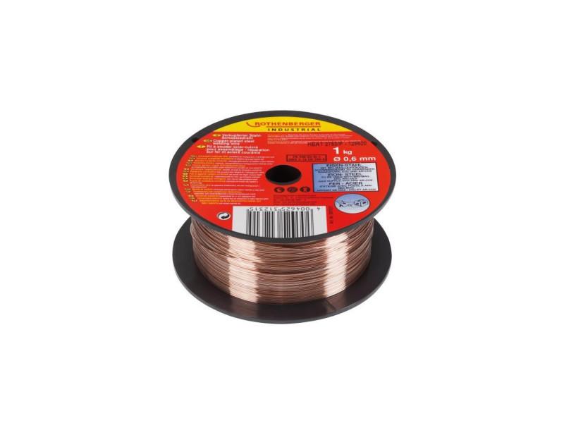 Fil a souder pour poste -acier/cuivre - 0,6mm ROT4004625312315
