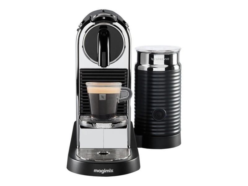 Magimix nespresso citiz et milk chrome 11318