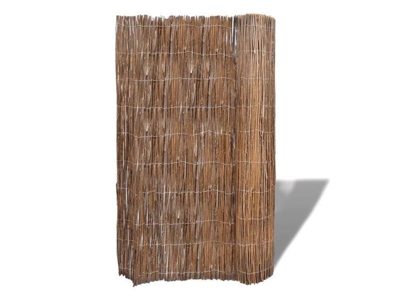 Vidaxl clôture de saule 300x100 cm 141615