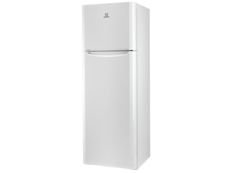 Indesit tiaa 12 v.1 réfrigérateur avec congélateur en haut avec double zones de température - 60 cm - blanc
